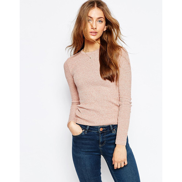 ASOS Rib Sweater - Sweater by ASOS Collection, Lightweight ribbed knit, Round...