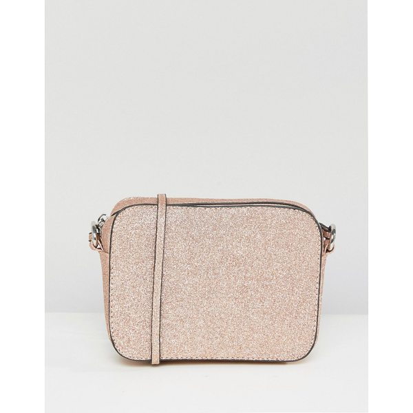 """ASOS Shimmer Effect Cross Body Bag - """"""""Bag by ASOS Collection, Fully lined, Adjustable body..."""