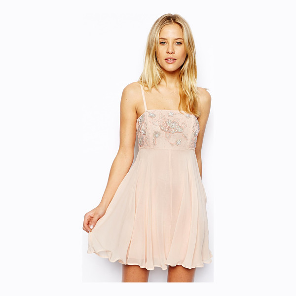ASOS Skater dress with embellished top - Skater dress by ASOS Collection Made from a delicate...