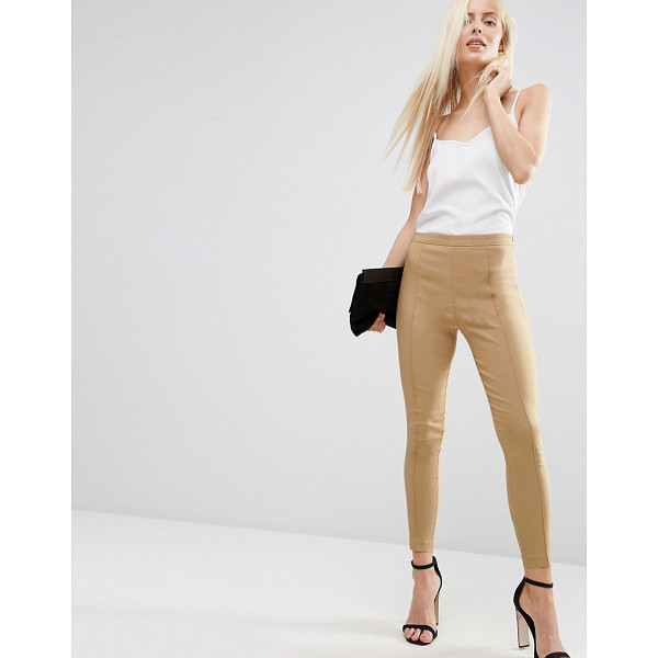 ASOS Skinny Crop Pants - Pants by ASOS Collection, Stretch woven fabric, High-rise...