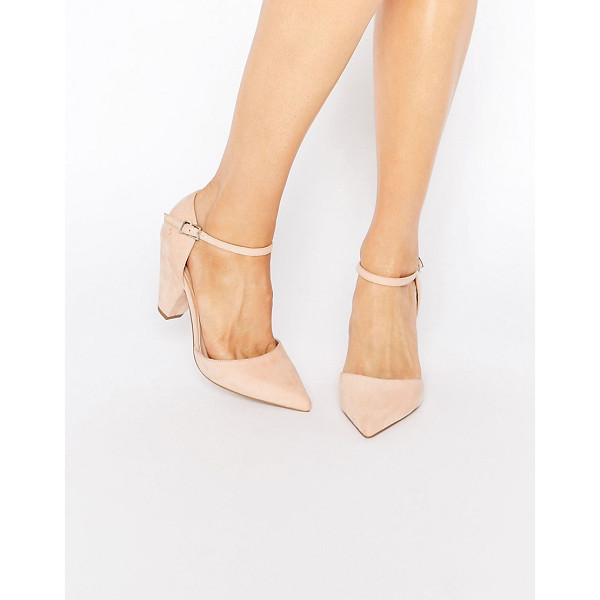 ASOS ASOS SPEAKER Pointed Heels - Heels by ASOS Collection, Faux-suede upper, Pointed toe,...