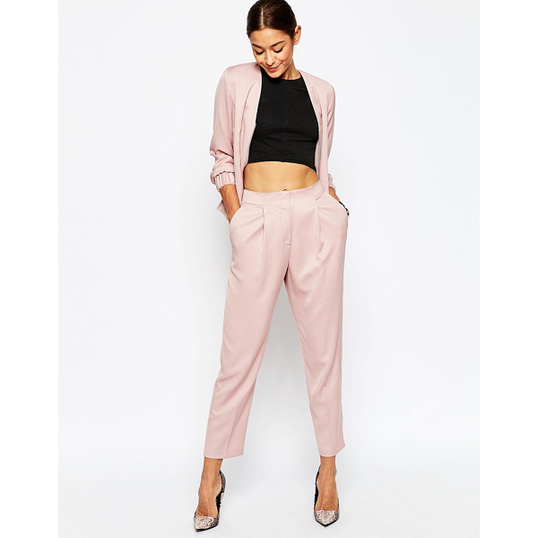 ASOS Tailored Peg Pants Co-ord - Pants by ASOS Collection, Smooth woven fabric, Lined...