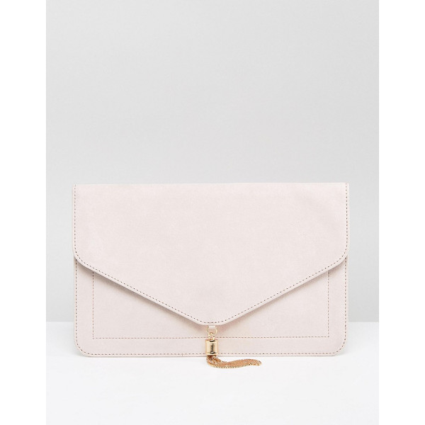 ASOS Tassel Clutch Bag - Clutch bag by ASOS Collection, Fabric outer, Fully lined,