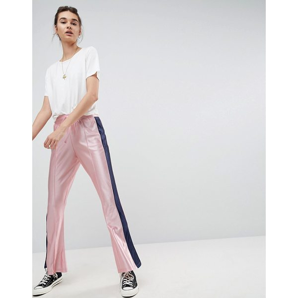 ASOS Trackpants with Split Hem and Side Stripe - Pants by ASOS Collection, It s time to shine, Drawstring...