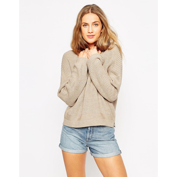 ASOS Ultimate chunky sweater - Sweater by ASOS Collection Chunky knit Crew neckline...