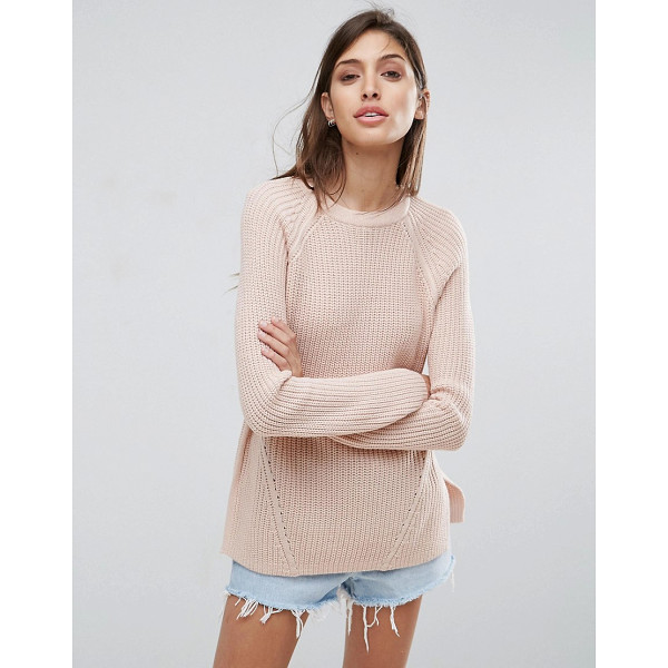 ASOS Ultimate Chunky Sweater With Crew Neck - Cardigan by ASOS Collection, Chunky ribbed knit, Crew neck,...