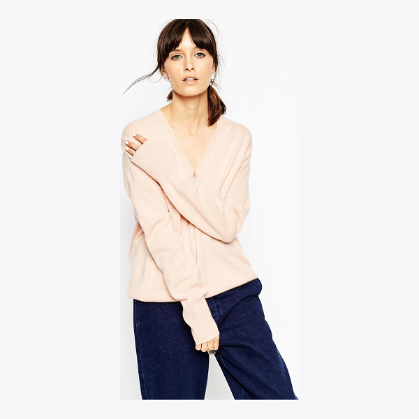 ASOS WHITE V neck sweater in cashmere - Sweater by ASOS WHITE Pure cashmere wool Lightweight, super...