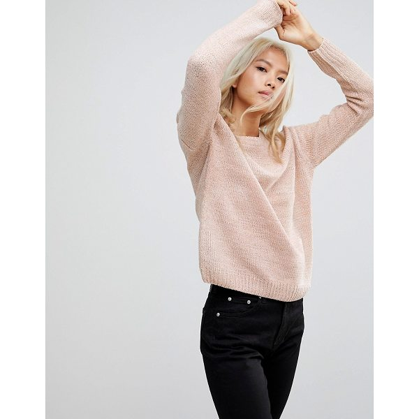 BLEND SHE Rosie Round Neck Chenille Sweater - Sweater by BlendShe, Round neck, Dropped shoulders, Fitted...