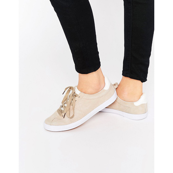 BLINK Suede Lace Up Sneaker Sneakers - Shoes by Blink, Real suede upper, Lace-up fastening, Stitch...