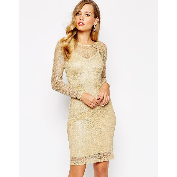 BODY FROCK Elisa dress - Dress by Body Frock Made in Portugal Sheer lace Color...