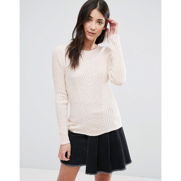"BRAVE SOUL Rib Sweater - """"Sweater by Brave Soul, Ribbed knit, Crew neck, Long..."