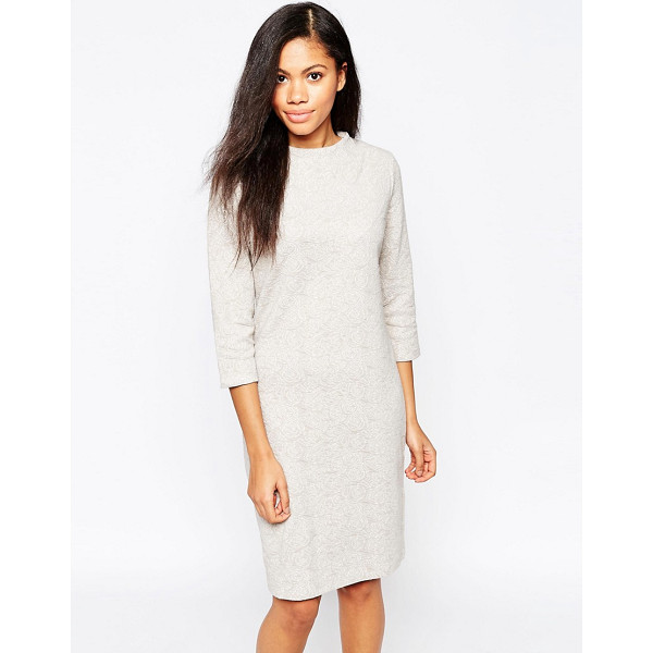 B.YOUNG 3/4 Sleeve Sweater Dress - Casual dress by b.Young, Mid-weight knit, Turtle neckline,...