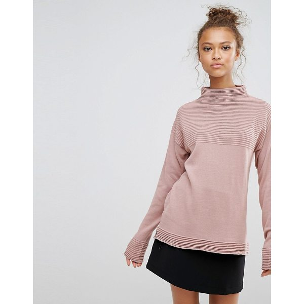 "B.YOUNG B.Young High Neck Top - """"Top by b.Young, Fine knit, High neck, Dropped shoulders,..."