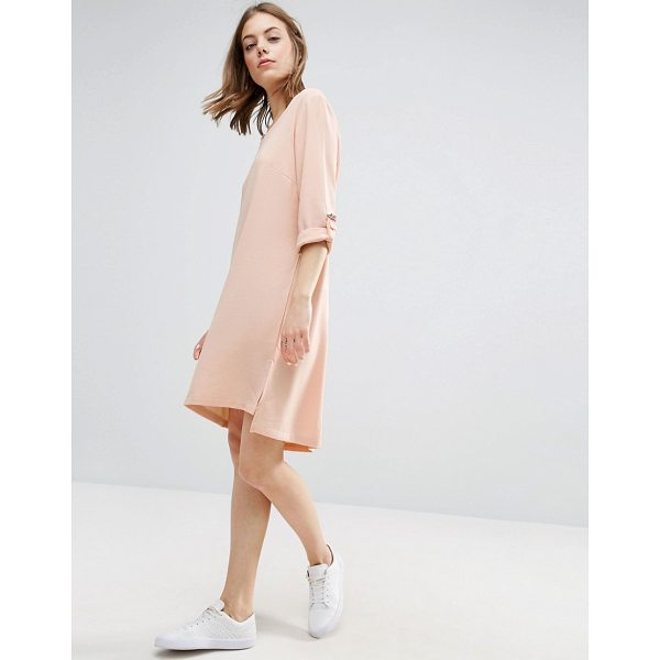 "B.YOUNG Crepe Dress - """"Dress by b.Young, Textured crepe, V-neck,..."