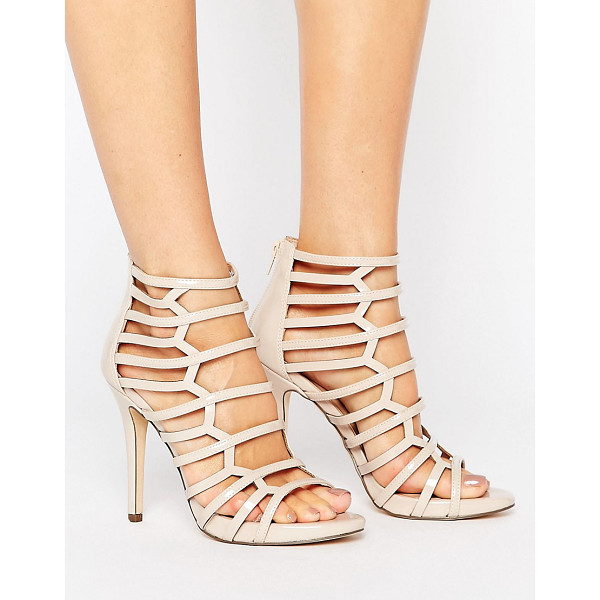 CALL IT SPRING Call It Spring Astausien Cut Out Heeled Sandals - Heels by Call It Spring, Patent faux-leather upper,