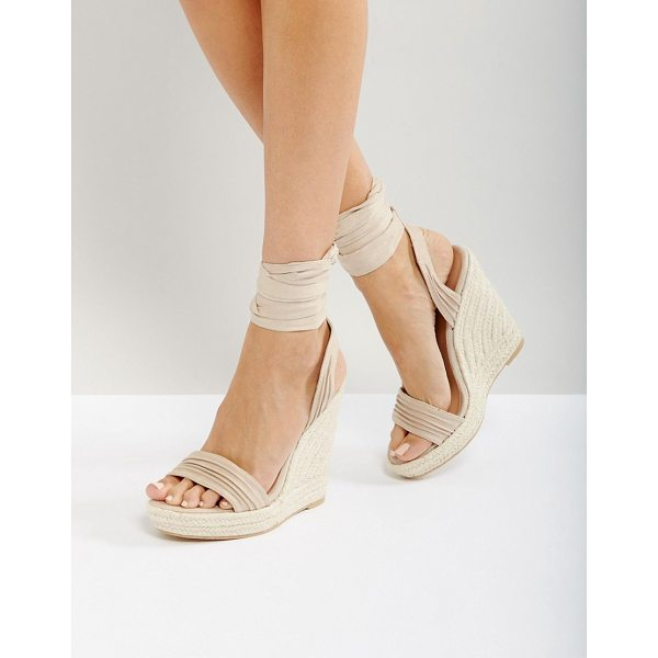 "CALL IT SPRING Call It Spring Cadoilla Espadrille Ankle Tie Sandals - """"Espadrilles by Call It Spring, Faux-suede upper,..."