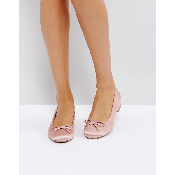 CALL IT SPRING Call It Spring Desarro Satin Ballerina Shoes - Flat shoes by Call It Spring, Satin-style upper, Slip-on...