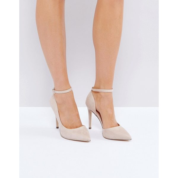"CALL IT SPRING Call It Spring Exerina Pointed Pumps - """"Heels by Call It Spring, Textile upper, Ankle-strap..."