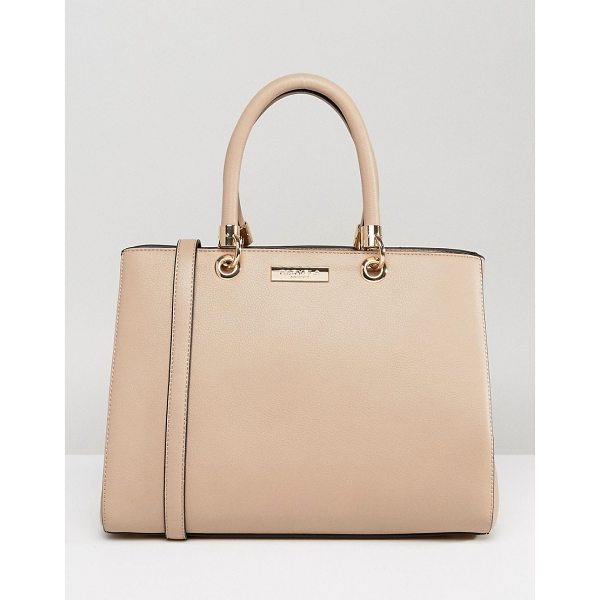 CARVELA KURT GEIGER Darla Structured Tote Bag - Cart by Carvela, Faux-leather outer, Fully lined, Twin...