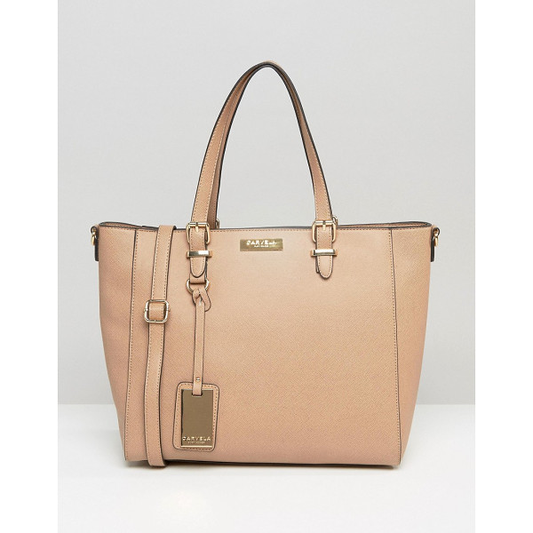 CARVELA KURT GEIGER Dina Winged Tote Bag - Cart by Carvela, Faux-leather outer, Fully lined, Twin...