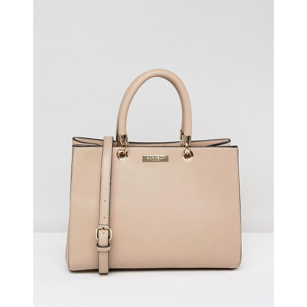 CARVELA KURT GEIGER Dina Tote - Cart by Carvela, Smooth faux-leather, Fully lined, Twin...