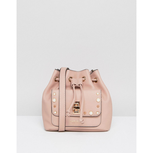CARVELA KURT GEIGER Mini Drawstring Crossbody Bag - Cart by Carvela, Faux leather, Branded lining, Single...