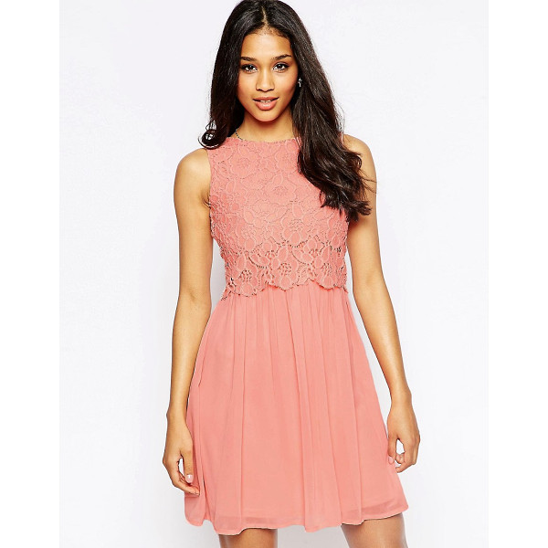 "CLUB L Lace Overlay Dress - """"Lace dress by Club L, Lightweight, woven fabric,..."