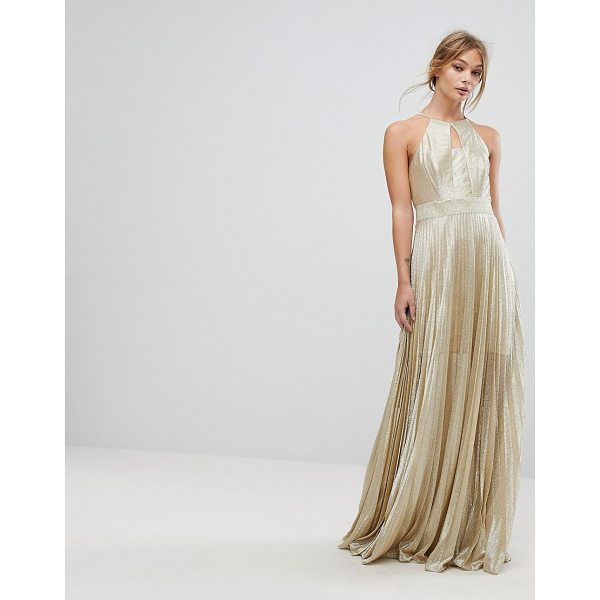 COAST Tyler Maxi Dress - Maxi dress by Coast, Mini-length lining, Metallic thread...