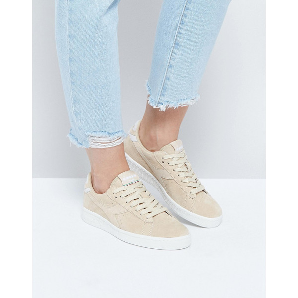 DIADORA Game Low Sneakers In Sand Suede - Sneakers by Diadora, Suede upper, Lace-up fastening,...