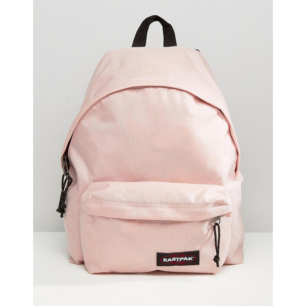 EASTPAK Padded pak r in blush pink - Backpack by Eastpak, Fabric outer, Grab handle, Adjustable...