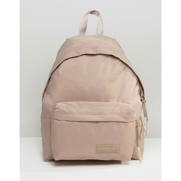 EASTPAK Wyoming Beige Backpack - Backpack by Eastpak, Canvas outer, Grab handle, Padded...