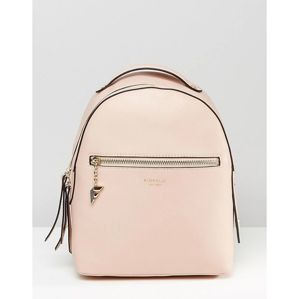 FIORELLI Anouk simple backpack with zip pocket detail - Backpack by Fiorelli Faux leather outer Grab handle...
