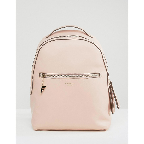 FIORELLI Large Anouk Backpack in Blush - Backpack by Fiorelli, Faux-leather outer, Branded lining,...