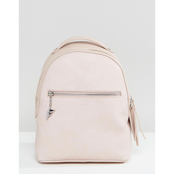 FIORELLI Mini Anouk Blush Rose Tumbled Backpack - Backpack by Fiorelli, Textured faux-leather, Printed