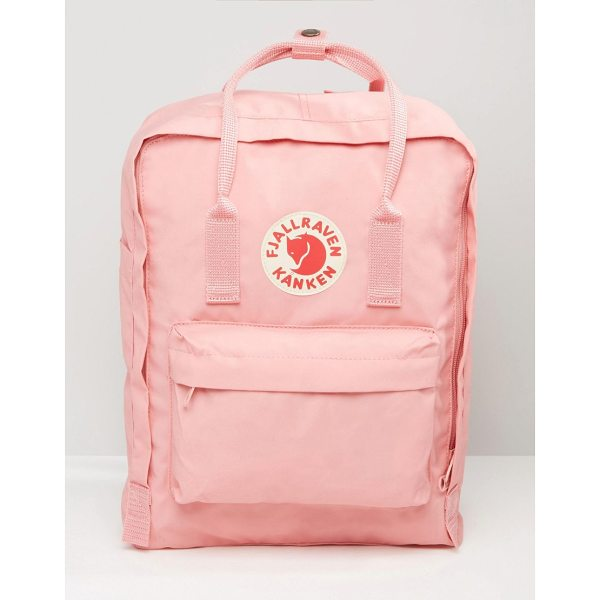 FJALLRAVEN Classic Kanken Backpack In Pastel Pink - Backpack by Fjallraven, Fabric outer, Grab handles,...