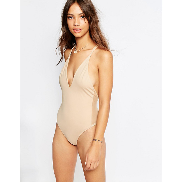 FLOOK Catalina Swimsuit - Swimsuit by Flook, Stretch swim fabric, Plunging...