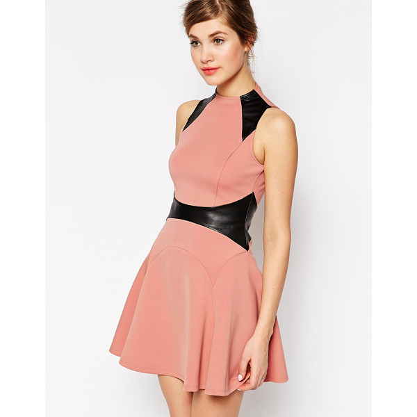 FOREVER UNIQUE Celia skater dress - Evening dress by Forever Unique Smooth, woven fabric...