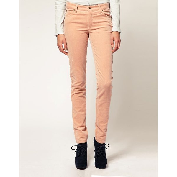 GANNI Corduroy Skinny Jeans - Corduroy jeans by Ganni. Featuring an all-over cord fabric,...