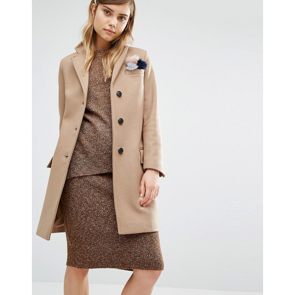 "GLOVERALL Classic Chesterfield Coat - """"Coat by Gloverall, Made in England, Wool-rich woven..."