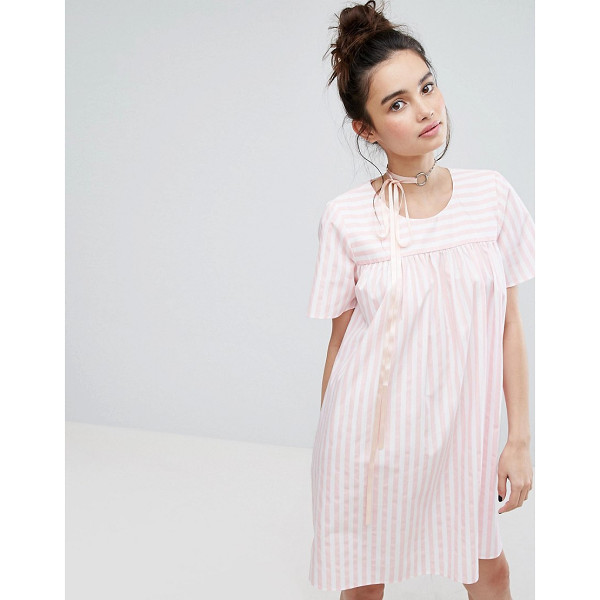 "H BY HENRY HOLLAND H! By Henry Holland Smock Dress In Candy Stripe - """"Dress by H! by Henry Holland, Pure cotton, Striped print,..."