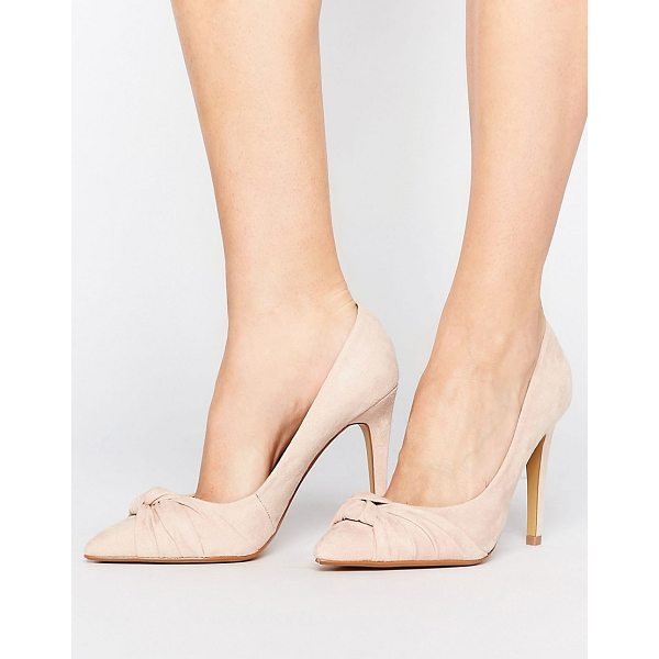 """HEAD OVER HEELS By Dune Arria Knot Point Pumps - """"""""Shoes by Head Over Heels by Dune, Textile upper, Slip-on..."""
