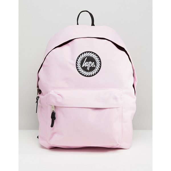 HYPE Badge Backpack - Backpack by Hype, Branded lining, Reinforced grab handle,...