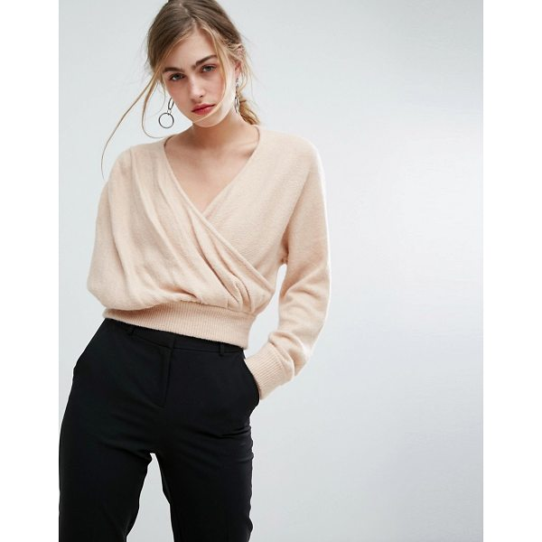 """IVYREVEL Cross Front Off Shoulder Sweater - """"""""Sweater by Ivyrevel, Soft-touch knit, V-neck, Wrap front,..."""