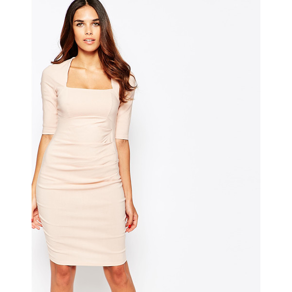 JESSICA WRIGHT Gilly pencil dress - Evening dress by Jessica Wright Lightweight woven fabric...