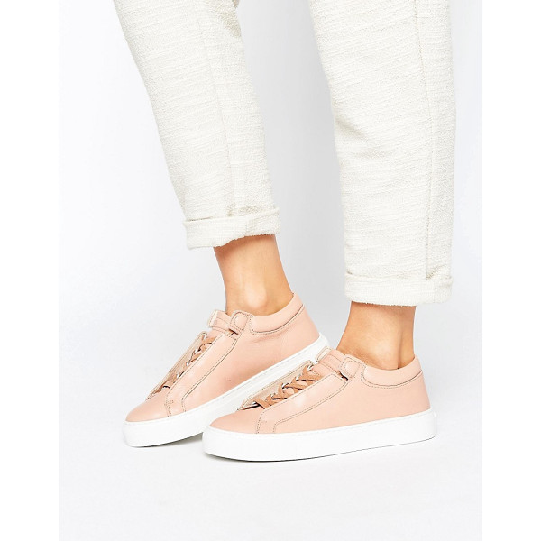 K-SWISS Premium Leather Novo Demi Sneakers - Sneakers by K-Swiss, Smooth leather upper, Lace-up...