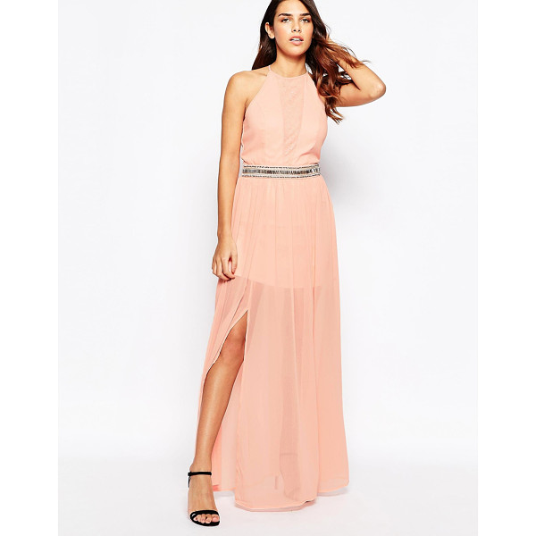 LACED IN LOVE Maxi dress with overlay skirt - Maxi dress by Laced In Love, Super lightweight chiffon,...
