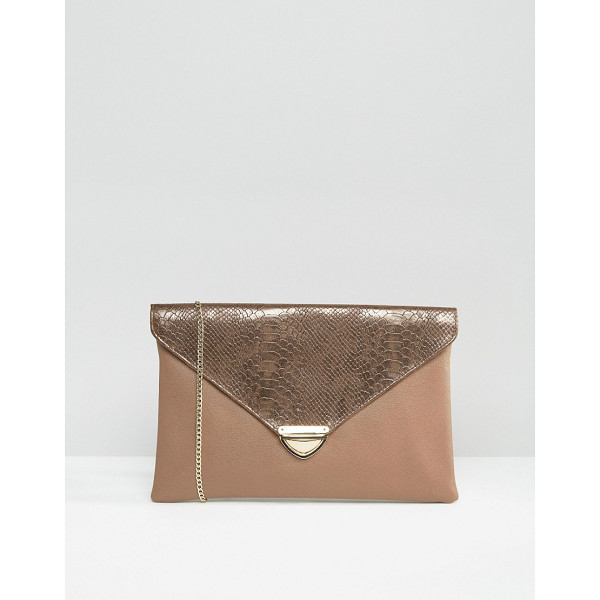 LAVAND Envelop Clutch Bag - Cart by Lavand, Faux-leather outer, Fully lined, Concealed...