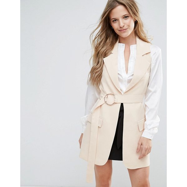 "LAVISH ALICE Belted Trench Coat - """"Jacket by Lavish Alice, Lightweight woven fabric, Notch..."