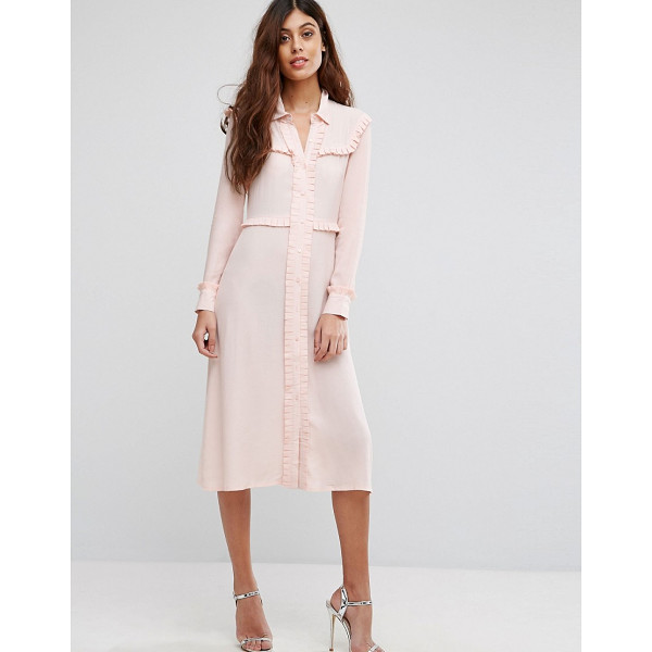 "LITTLE WHITE LIES Henriette Shirt Dress - """"Dress by Little White Lies, Woven fabric, Spread collar,..."