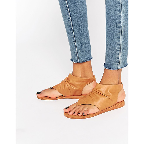 LONDON REBEL Bootee flat sandals - Shoes by London Rebel, Leather-look upper, Slip-on style,...